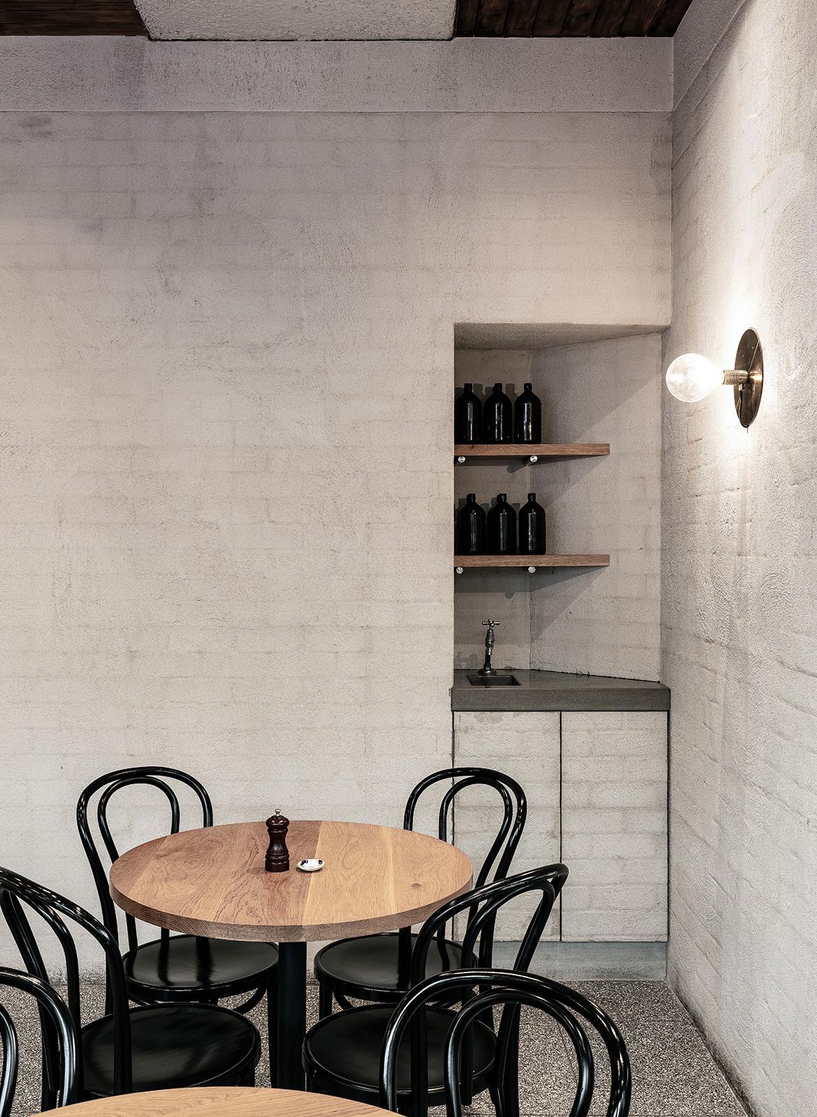 Ricco Bloch High St Cafe Randwick storage nook