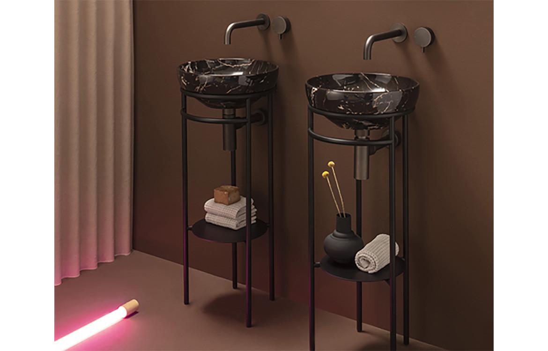 Ring Basins Bathroom Interior Twin