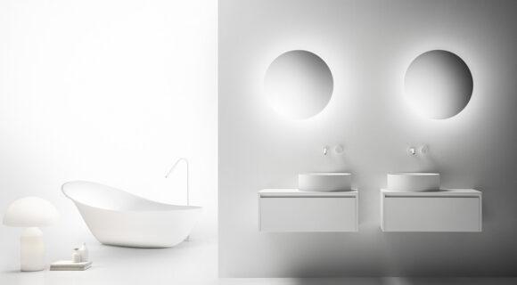 Signature Italian Elegance With The New Fontana Round and Rectangular Basins