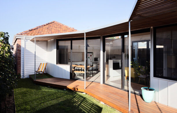 Allan Street House Gardiner Architects CC Rory Gardiner front yard