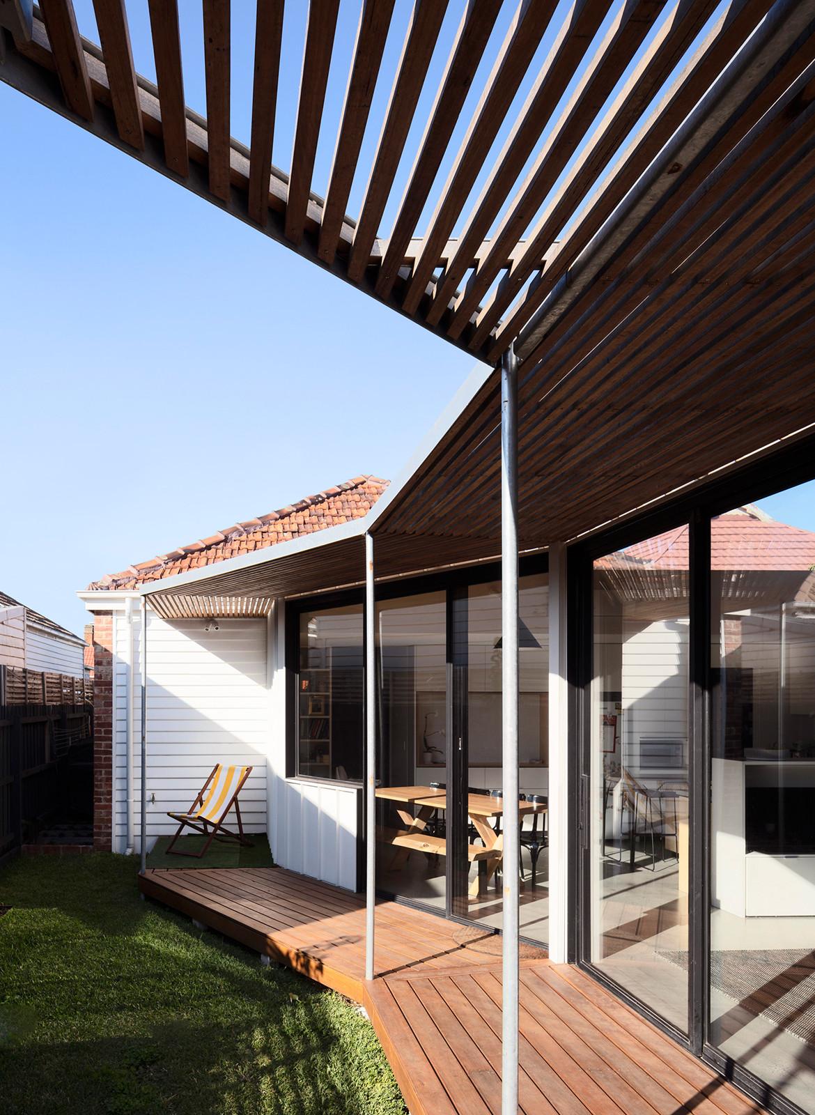 Allan Street House Gardiner Architects CC Rory Gardiner entrance