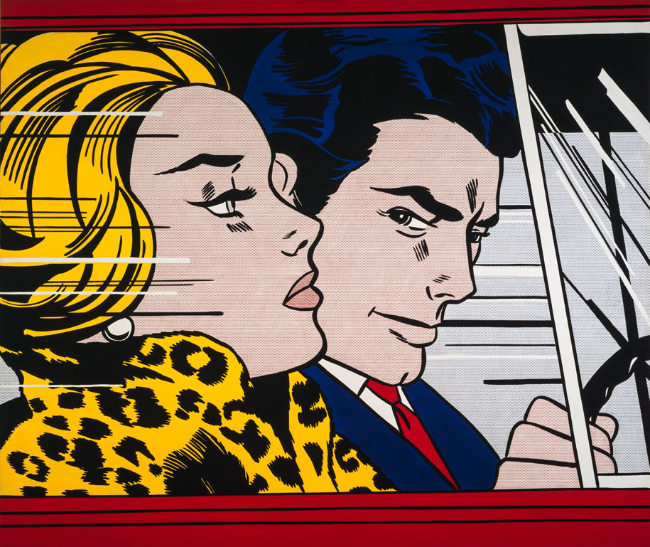 Roy-Lichtenstein_In-the-Car_1963
