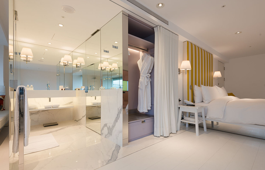 s hotel philippe starck s latest asian adventure. Black Bedroom Furniture Sets. Home Design Ideas