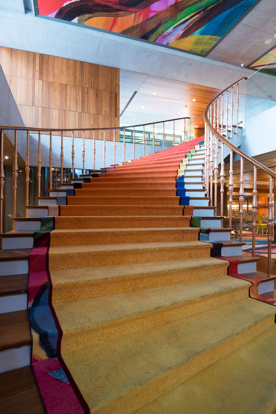 S Hotel Phillipe Stark staircase