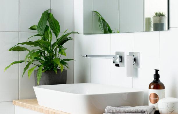 caroma unveils timeless sunstone solid surface collection. Black Bedroom Furniture Sets. Home Design Ideas