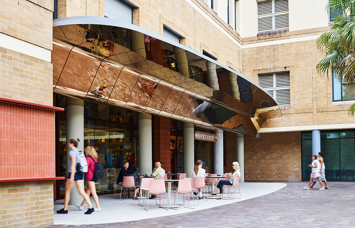 SJB Writes A New Chapter For UNSW Bookshop | streetview