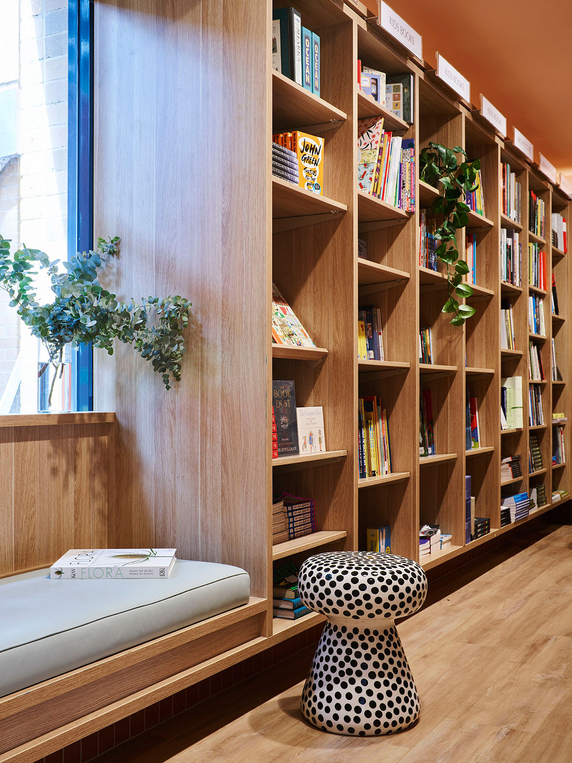 SJB Writes A New Chapter For UNSW Bookshop | window seat