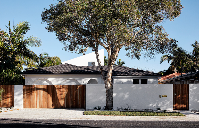 House Burch Those Architects Byron Bay Luc Rémond driveway