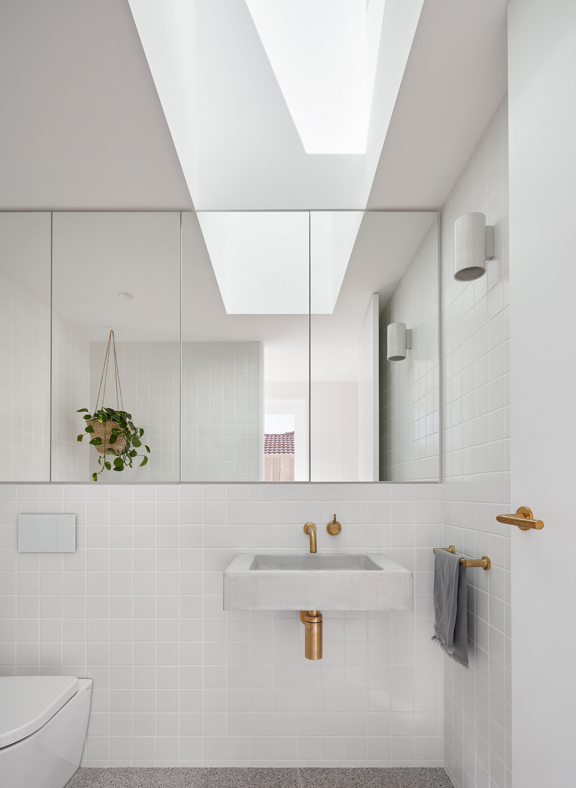 House Burch Those Architects Byron Bay Luc Rémond bathroom