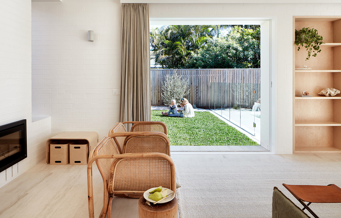House Burch Those Architects Byron Bay Luc Rémond open living space