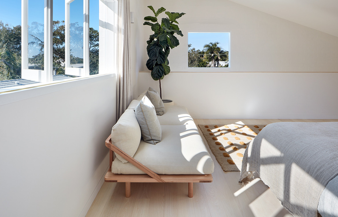 House Burch Those Architects Byron Bay Luc Rémond bedroom