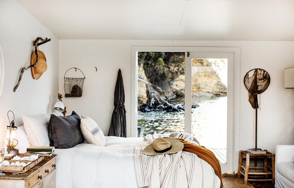 Return To Satellite Island | boathouse bedroom
