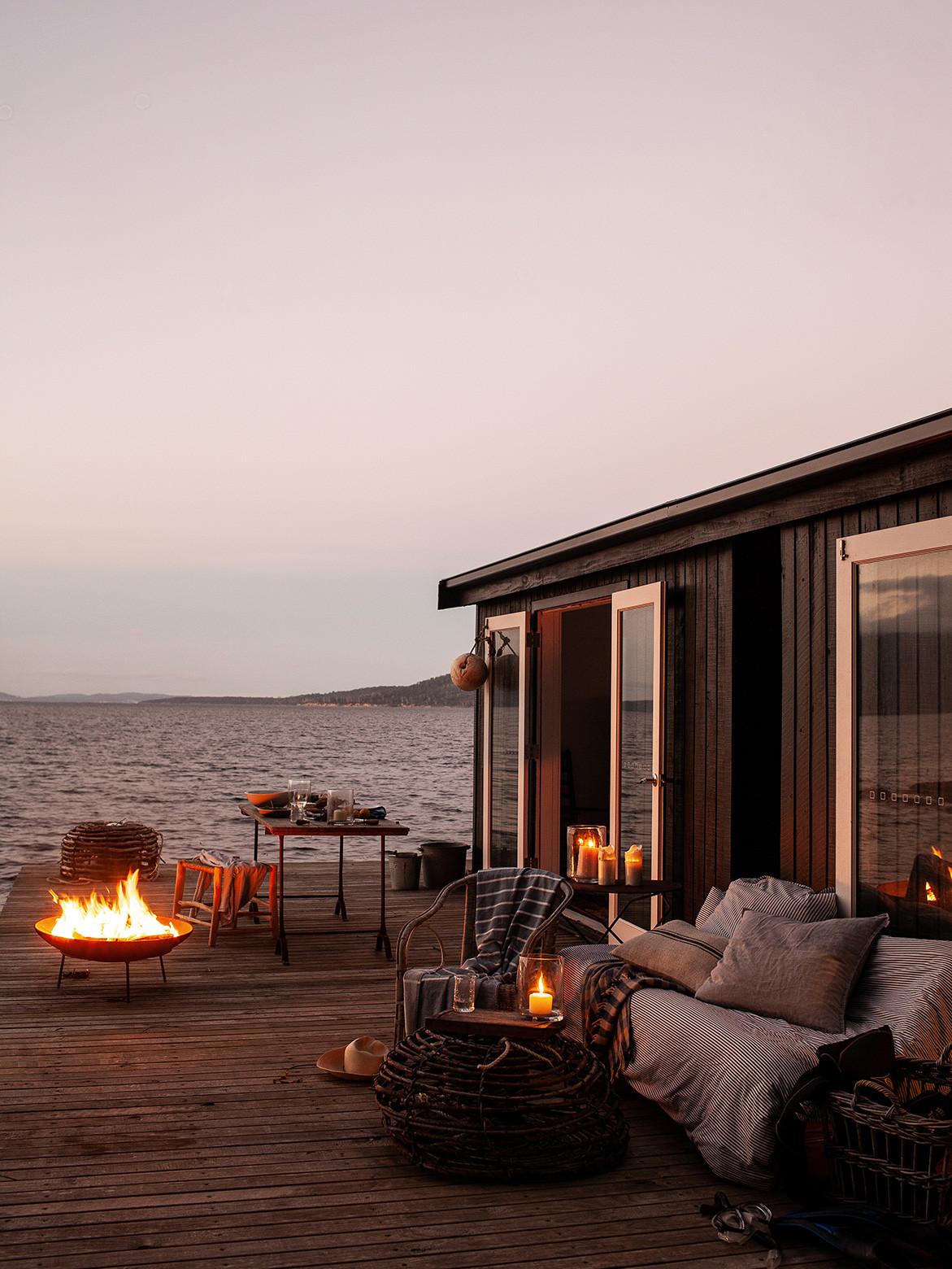 Return To Satellite Island | boathouse deck