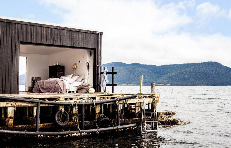 Return To Satellite Island | boathouse
