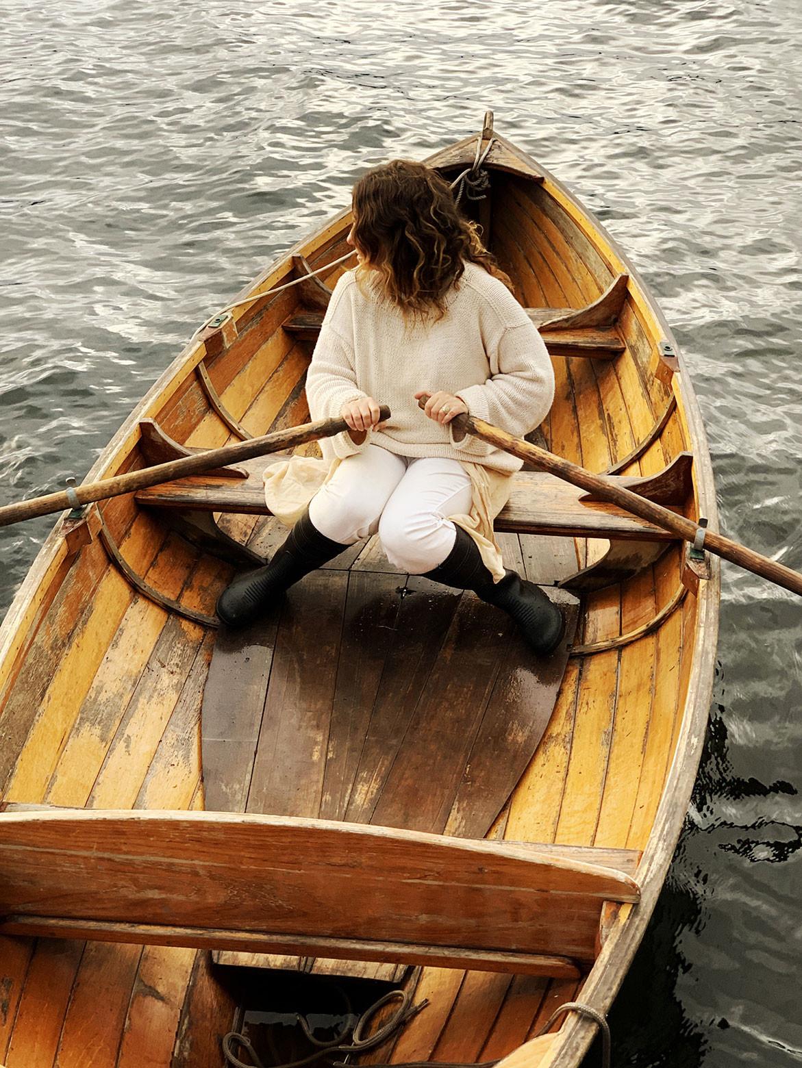Return To Satellite Island | row boat