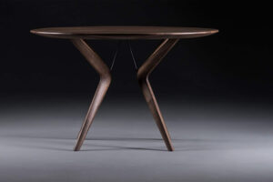 Lakri Table Dark Timber