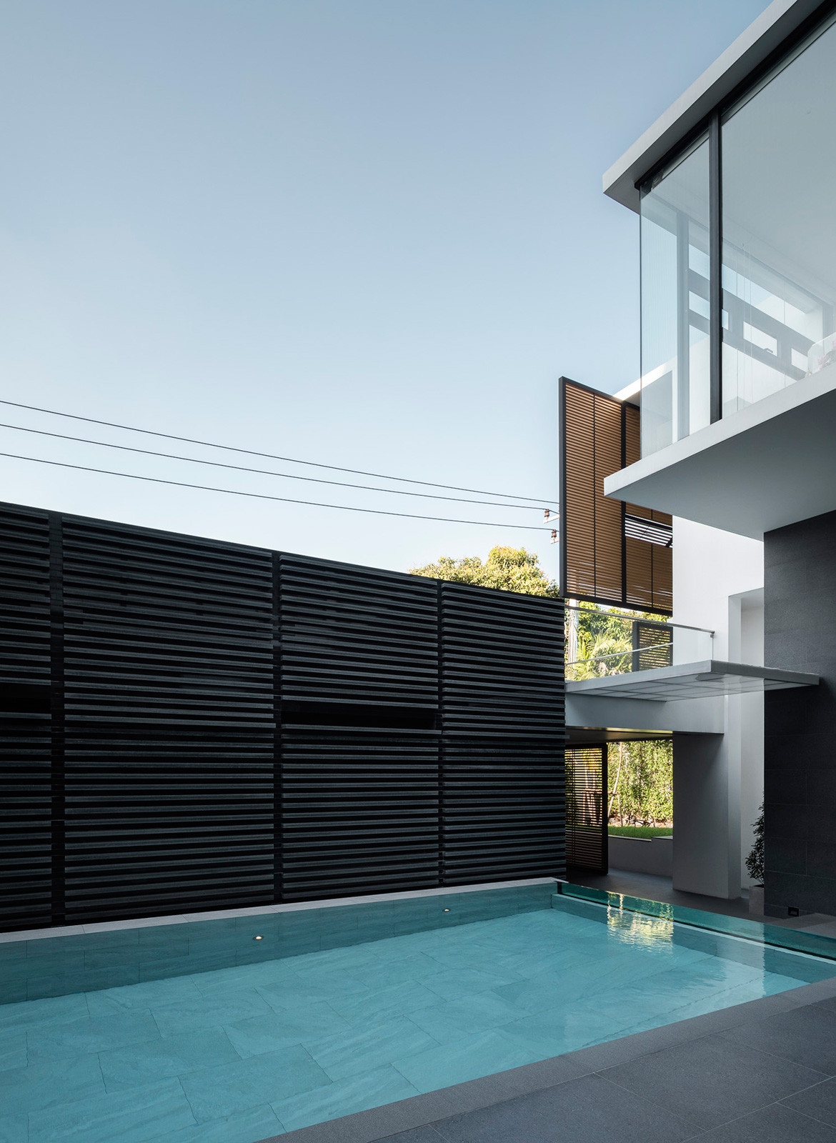 Screen House Archimontage cc Chalermwat Wongchompoo pool and screen