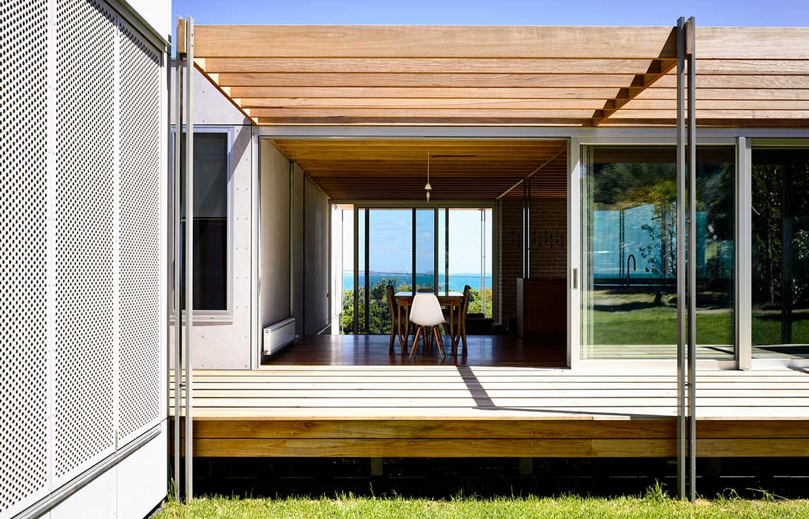 Seaberg House Kerstin Thompson Architecture veranda