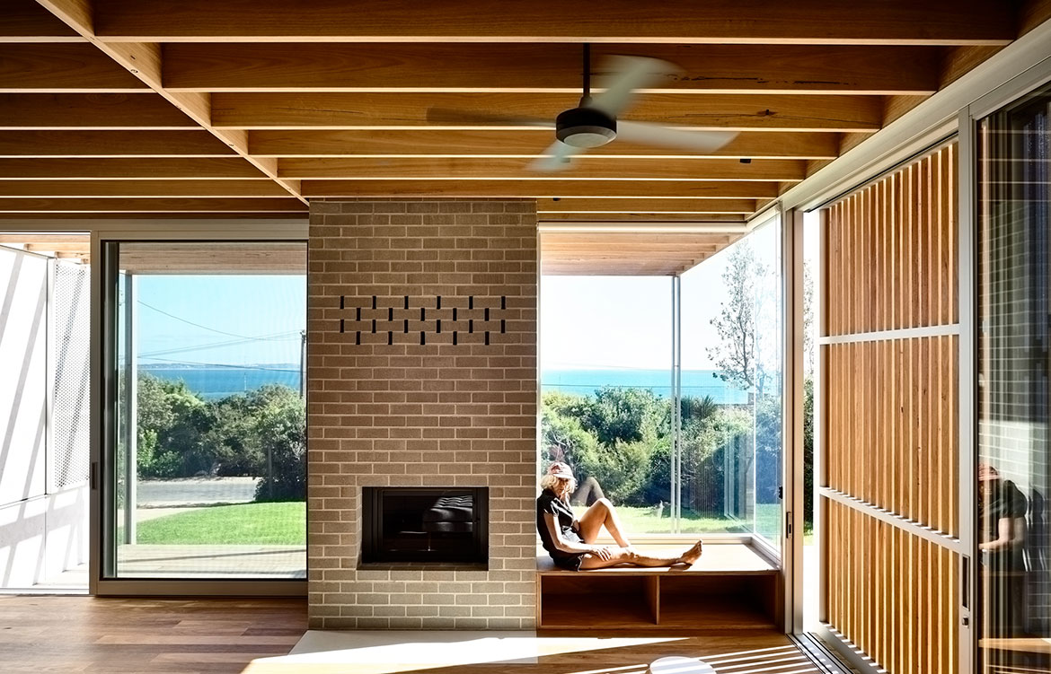 Seaberg House Kerstin Thompson Architecture view