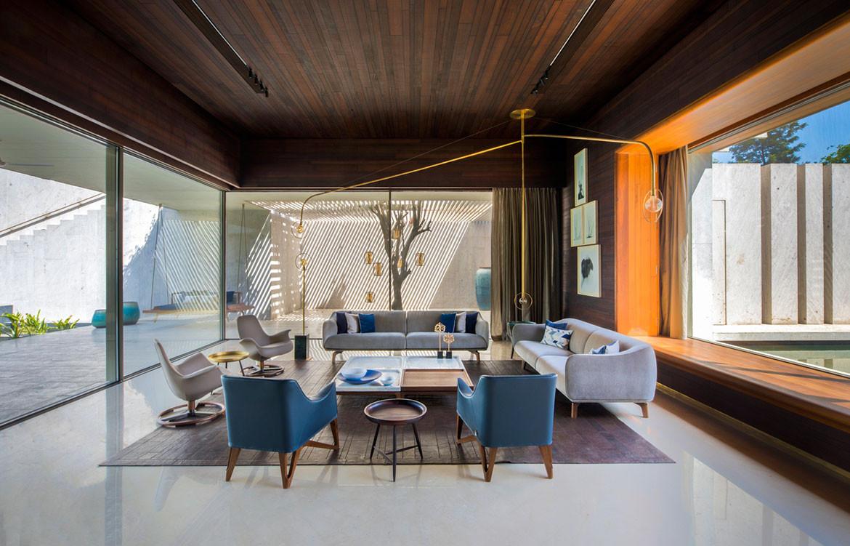 Secret Gardens House Spasm Architects living