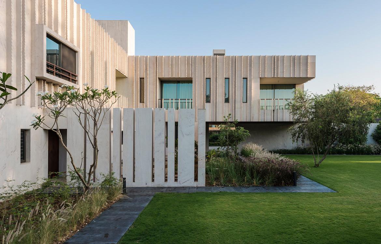 Secret Gardens House Spasm Architects stone