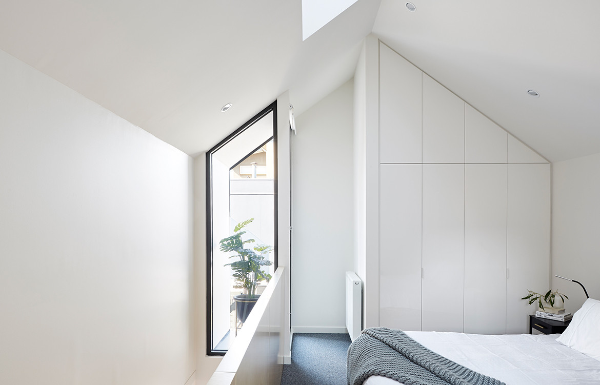Shadow House Nic Owen Architects CC Christine Francis bedroom window