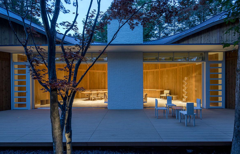 Shishi-Iwa House Shigeru Ban Japan grand room
