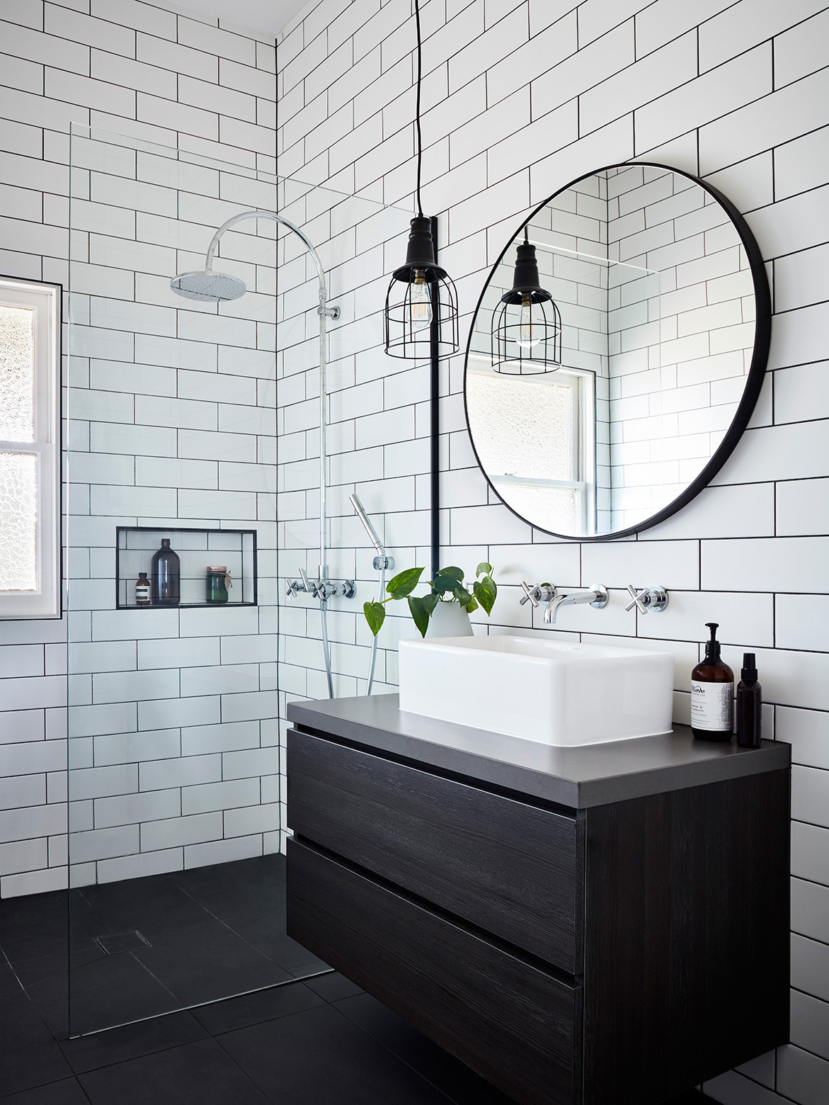 A 1920s Cottage Gets A Bryant Alsop Makeover | bathroom