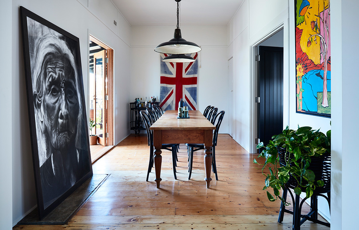 A 1920s Cottage Gets A Bryant Alsop Makeover | dining room