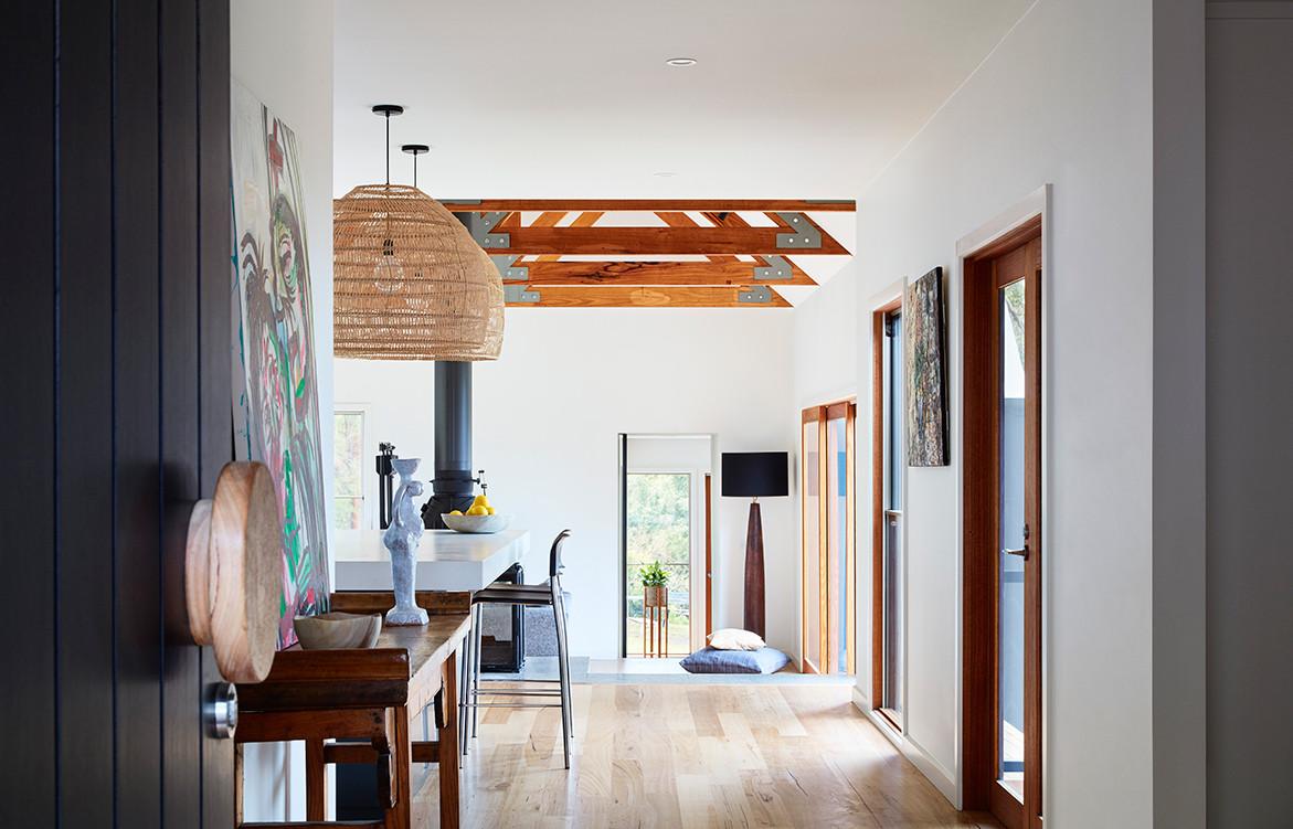 A 1920s Cottage Gets A Bryant Alsop Makeover | hallway