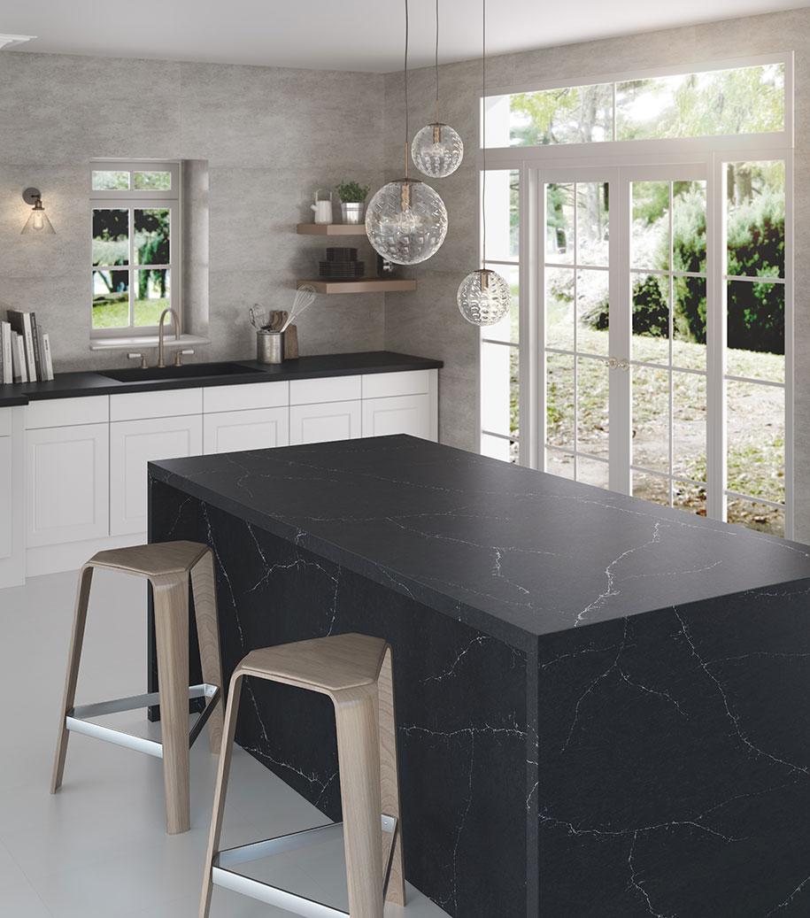 Silestone®-Charcoal-Soapstone_Kitchen