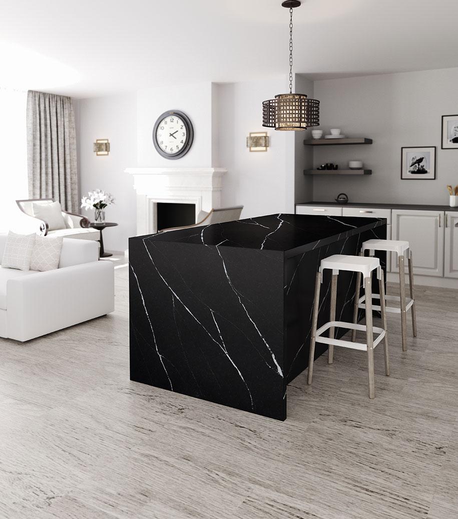 Silestone-Kitchen---Eternal-Marquina