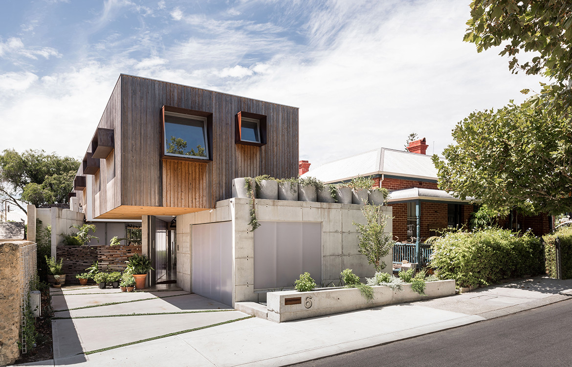 Silver Street House EHDO Architecture CC Dion Robeson exterior view and structure