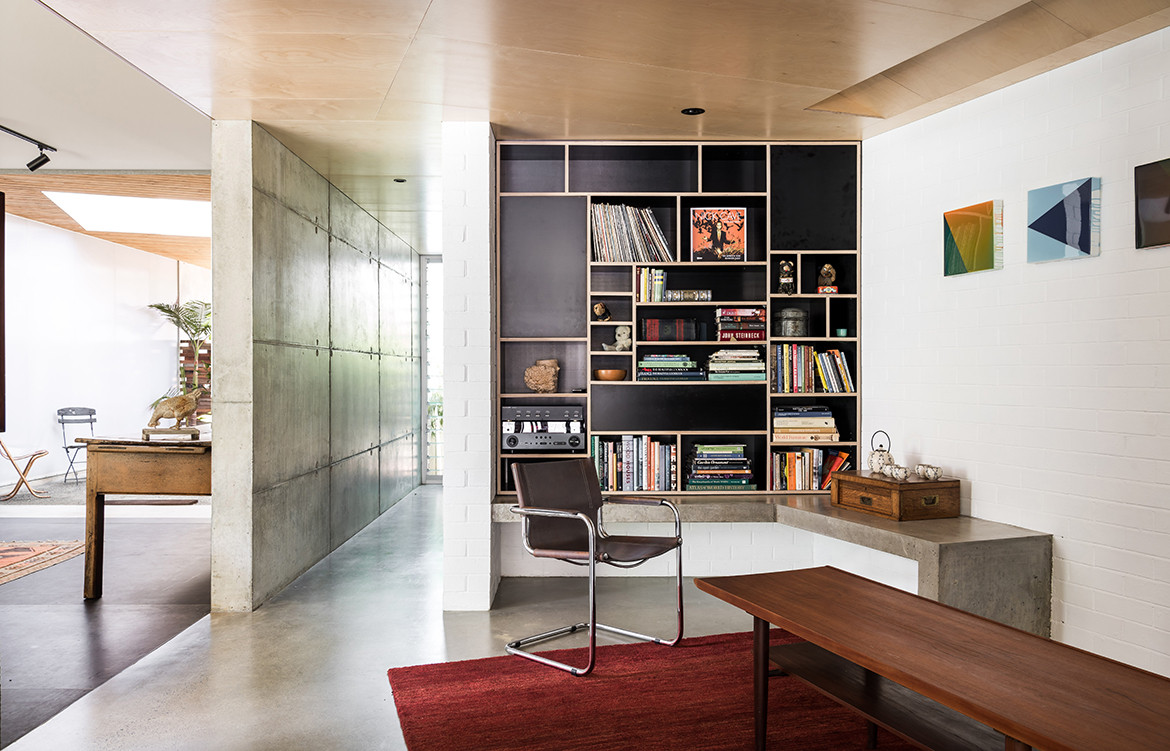 Silver Street House EHDO Architecture CC Dion Robeson study and office space