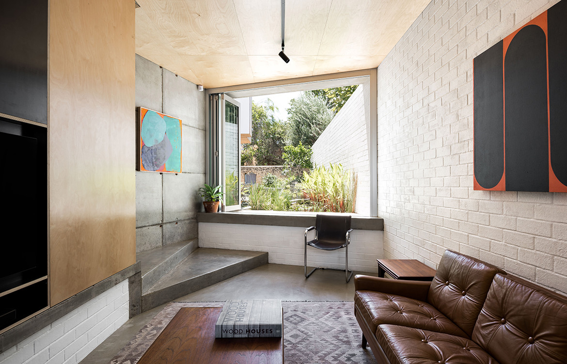 Silver Street House EHDO Architecture CC Dion Robeson window seat