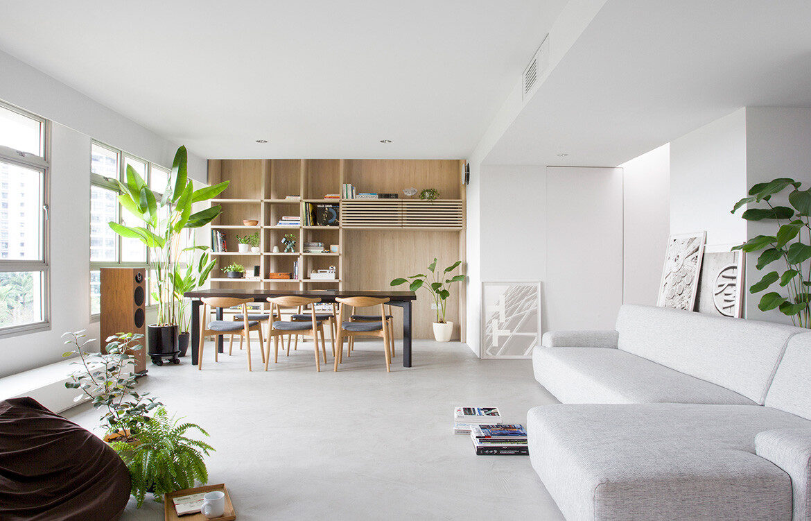 Nitton Architects Reconfigure Apartment Design In Singapore