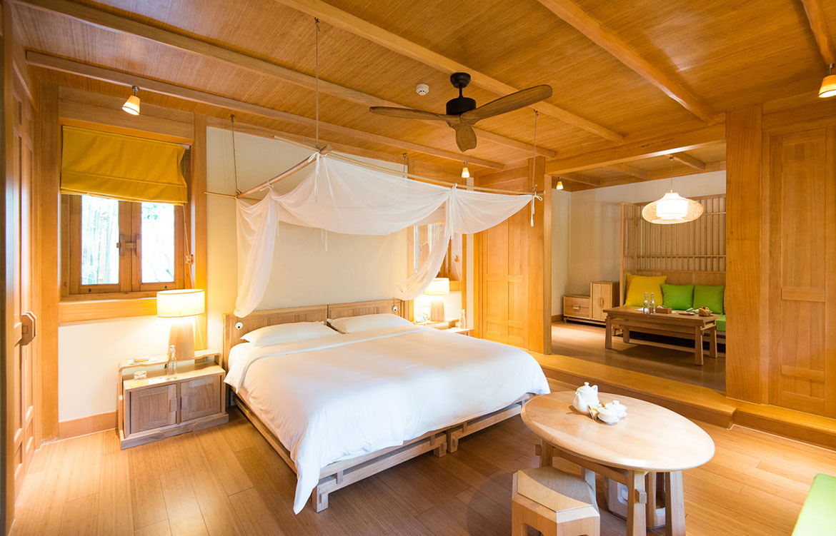 Six Senses Qing Cheng Mountain Dave Tacon bedroom