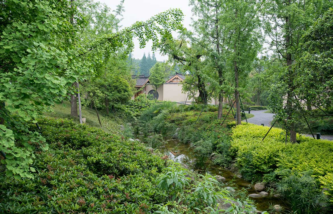 Six Senses Qing Cheng Mountain Dave Tacon garden