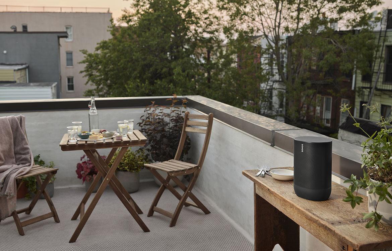 Sonos Move, rooftop