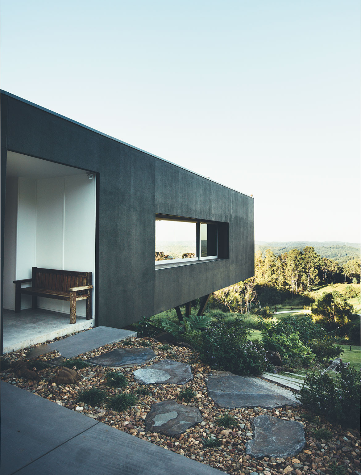 Stealth House Teeland Architects cc Jared Fowler view