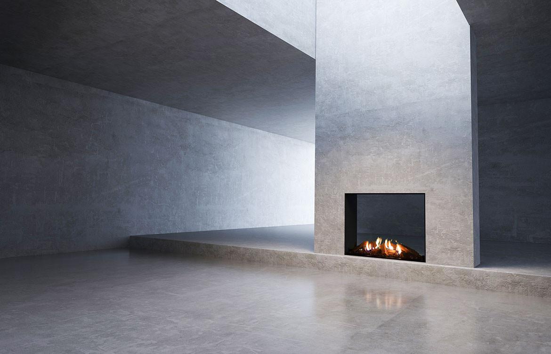 Stoke Fireplace Studio Fireplace MODE | Habitus Living