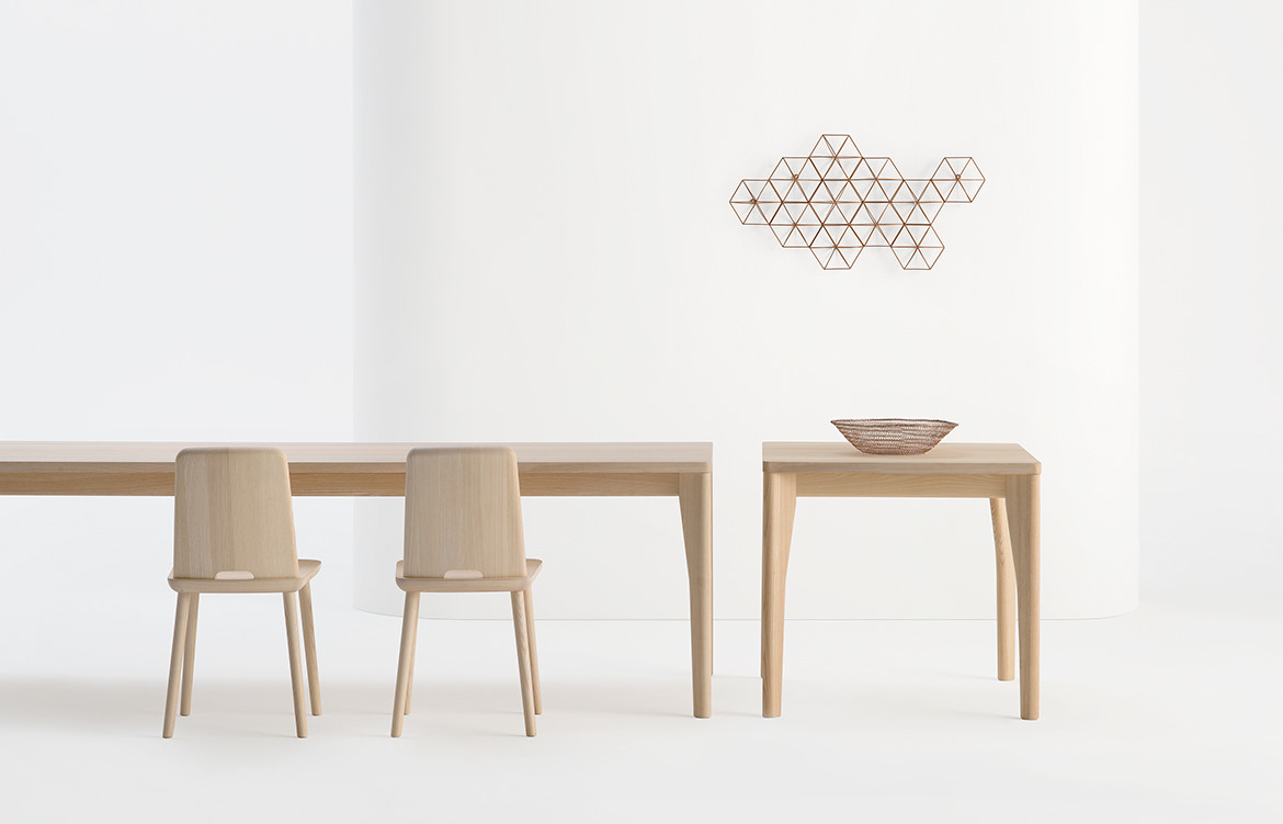 Fold Table and Tablet Chairs by SIPA