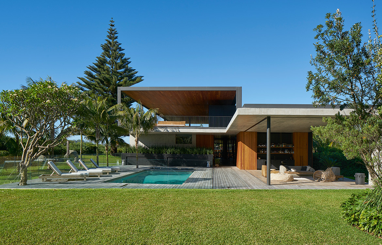 Sunrise House MCK Architects CC Michael Nicholson house pool