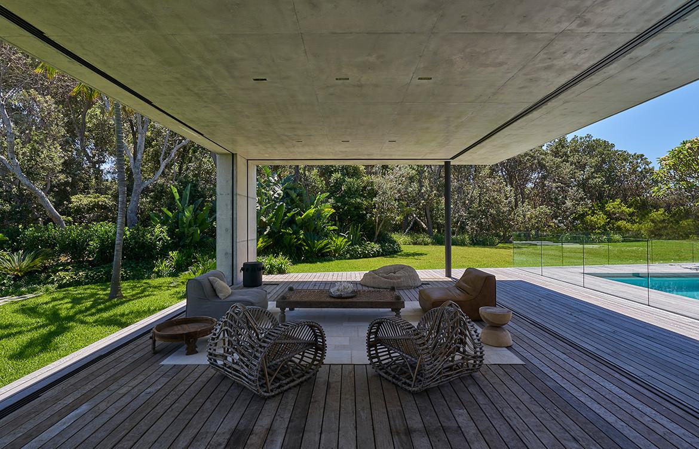 Sunrise House MCK Architects CC Michael Nicholson open living