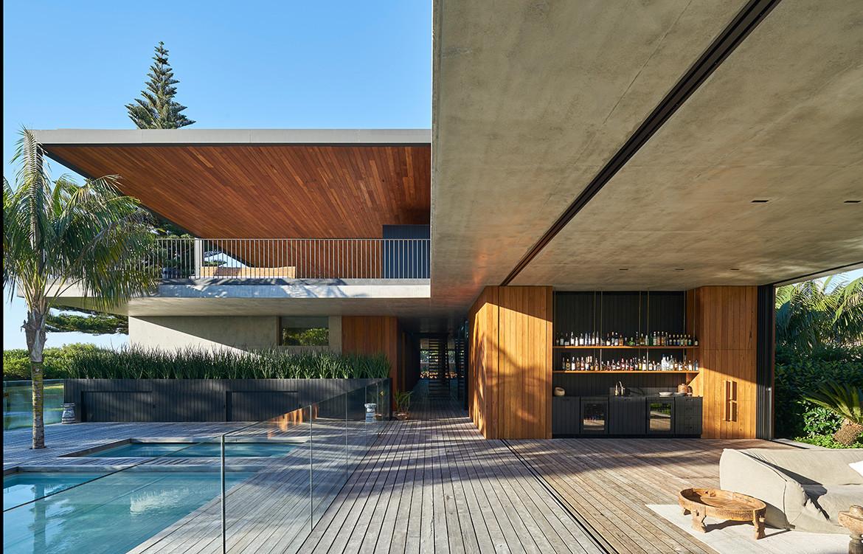 Sunrise House MCK Architects CC Michael Nicholson pool