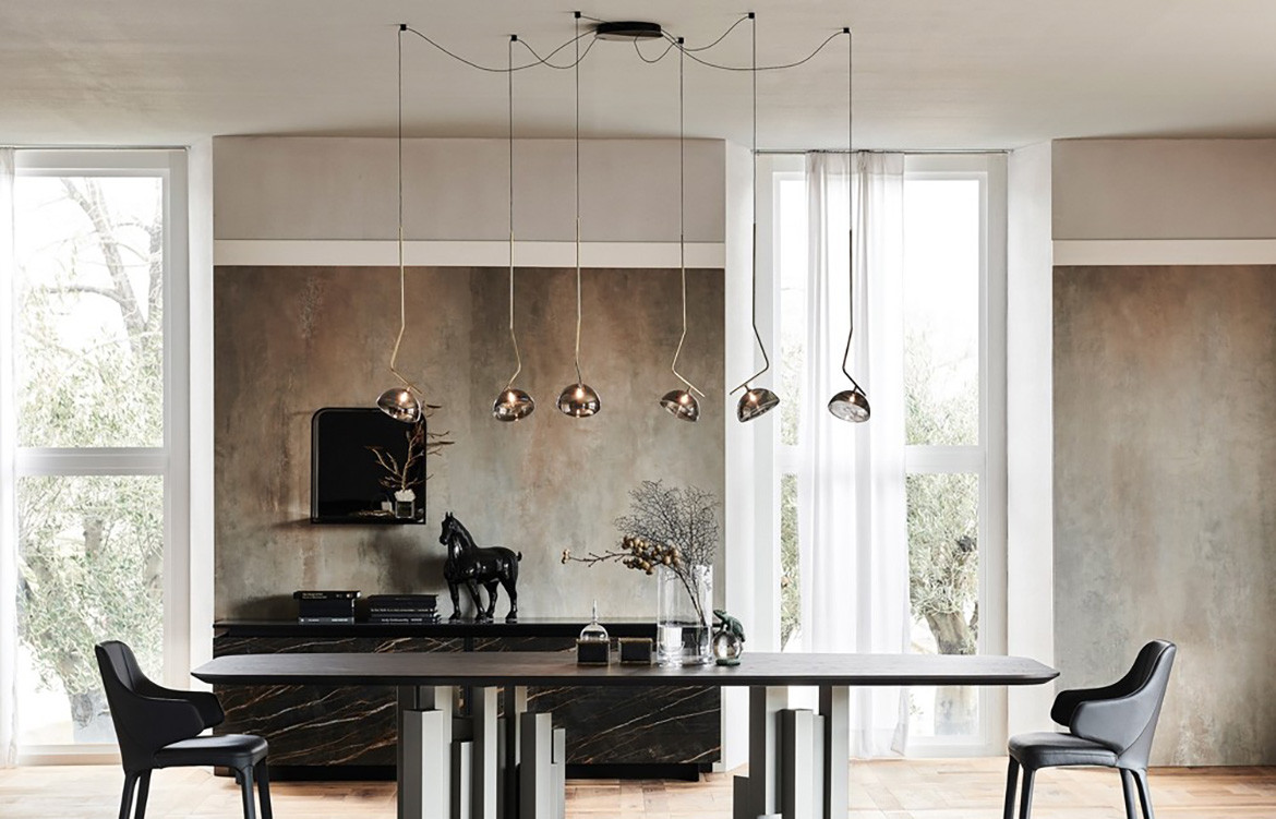 Sunset Ceiling Lamp Dining Room