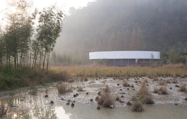 The Pavilion Frenzy superimpose pavilion rural china