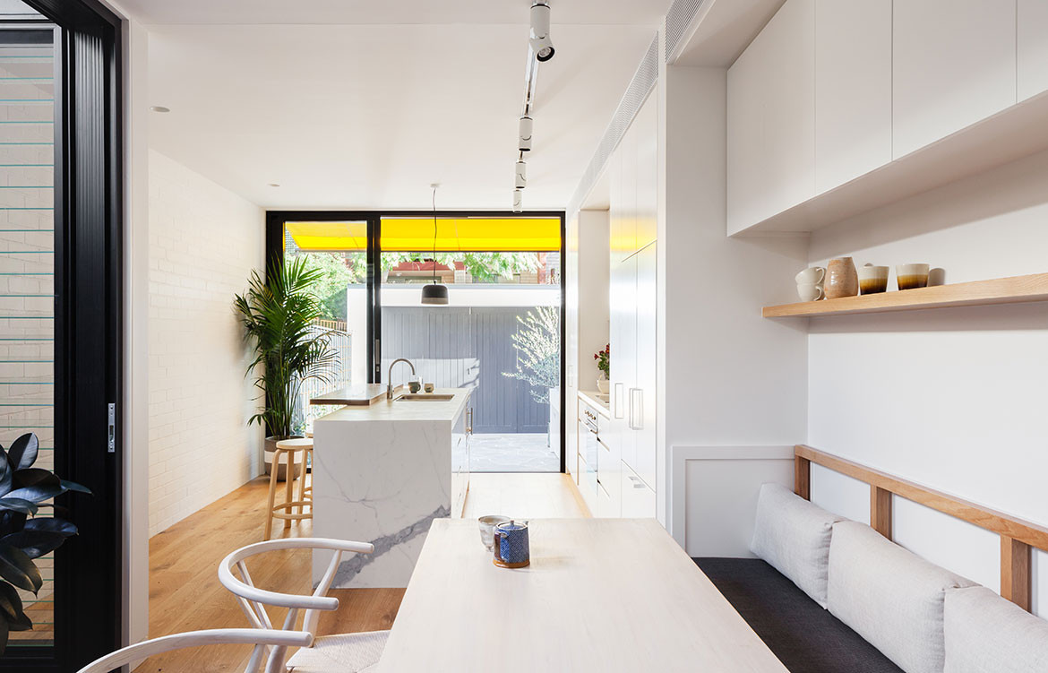 Surry Hills House Michael Cumming Architect CC Katherine Lu kitchen bench