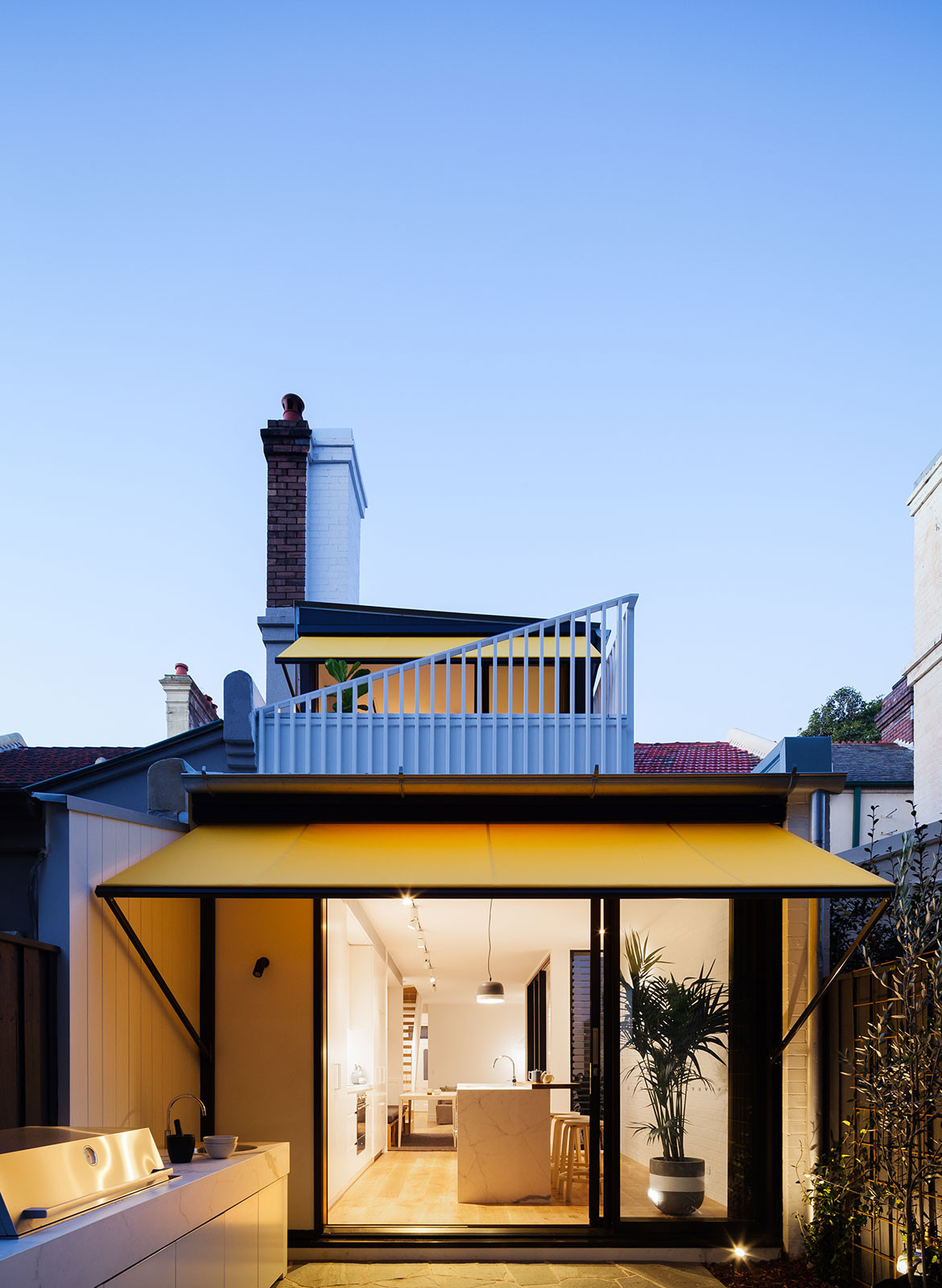 Surry Hills House Michael Cumming Architect CC Katherine Lu night