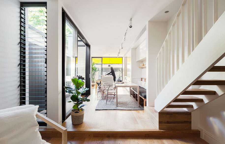 Surry Hills House Michael Cumming Architect CC Katherine Lu open plan